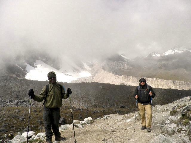 Highest point in Salkantay, machu Picchu, peru